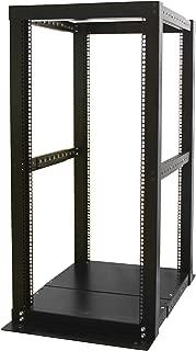 StarTech.com 25U Open Frame Server Rack - 994lbs capacity - 4 Post Adjustable Depth (18.3