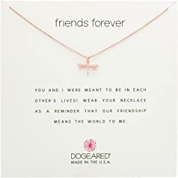 Dogeared - Friends Forever, Dragonfly Necklace
