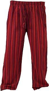 12b25f700 Amazon.es: pantalones hippies hombre - Rojo