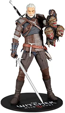 """McFarlane Toys The Witcher Geralt of Rivia 12"""""""" Action Figure (13441-4)"""