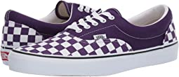 (Checkerboard) Violet Indigo/True White