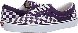 (Checkerboard) Violet Indigo/True White