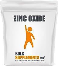 BulkSupplements Zinc Oxide Powder (500 Grams)