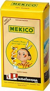 CAFFÈ PASSALACQUA Coffee - MEKICO Ground Coffee Blend - 6 x 250gr / 8.8oz