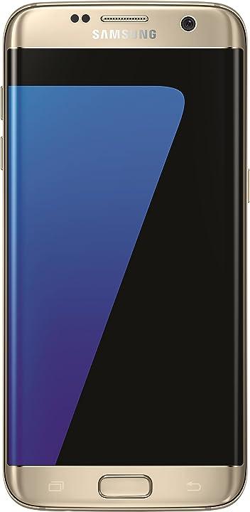 Smartphone samsung galaxy s7 edge gold SM-G935FZDADBT