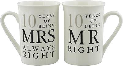 Amazon Co Uk 10 Years Wedding Anniversary Gifts