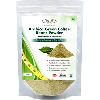 Sinew Nutrition Green Coffee Beans Powder for Weight Management