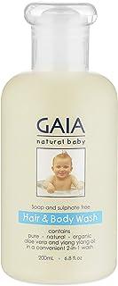 GAIA Skin Naturals Baby Hair and Body Wash, 200mL