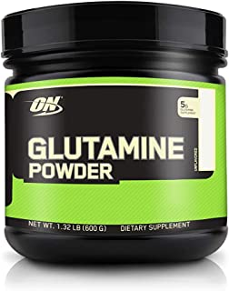 Optimum Nutrition L-Glutamine Muscle Recovery Powder, 600 Grams