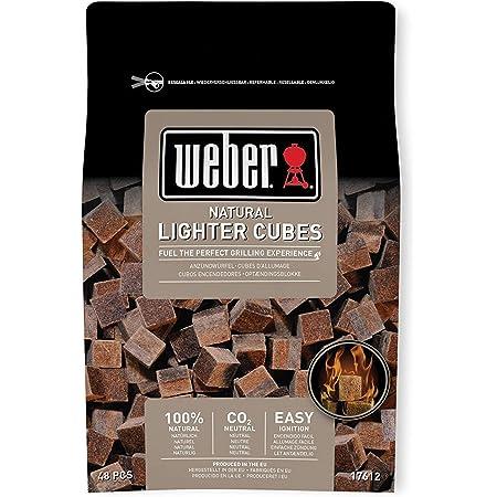 ウェーバー(Weber) バーベキュー コンロ BBQ グリル 着火剤 100%天然素材点火キューブ 48個入(一回あたりたったの33円) 【日本正規品】 17612