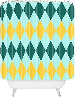 """Deny Designs Hello Twiggs Pineapple Shower Curtain, 69"""" x 72"""""""