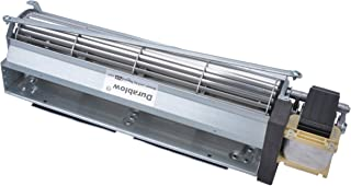 Durablow MFB010 BK BKT GA3650 GA3700 GA3750 Replacment Fireplace Blower Fan Unit for Desa, FMI, Vanguard, Vexar, Comfort Flame Glow, Rotom