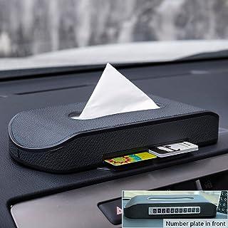 Caja de pañuelos de papel creativo para coche, de FMS, diseño multifunción optimizado,