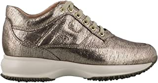 Hogan Luxury Fashion Womens HXW00N00010SHMB006 Beige Sneakers | Fall Winter 19
