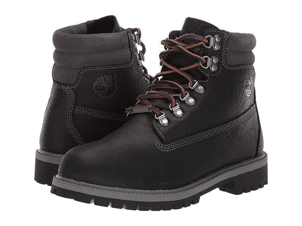 Timberland Kids 6 Premium 640 Below Waterproof Boot (Big Kid) (Black Highway) Kids Shoes