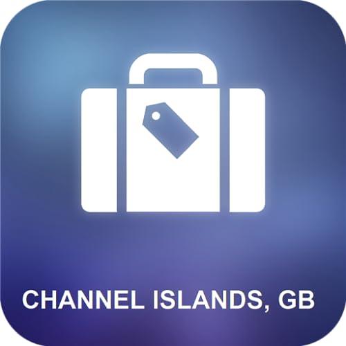 Islas del Canal, GB Mapa