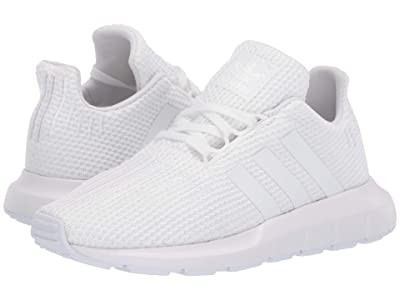 adidas Originals Kids Swift Run C (Little Kid) (White) Kids Shoes