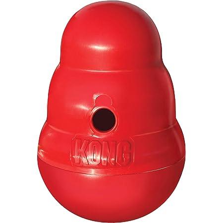 KONG - Wobbler - Interactive Treat Dispensing Dog Toy, Dishwasher Safe