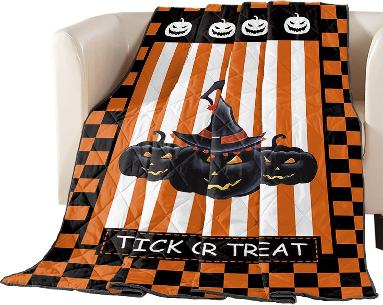 Reversible Down Alternative Comforter Halloween Pumpkins Popular brand Outlet ☆ Free Shipping Black G