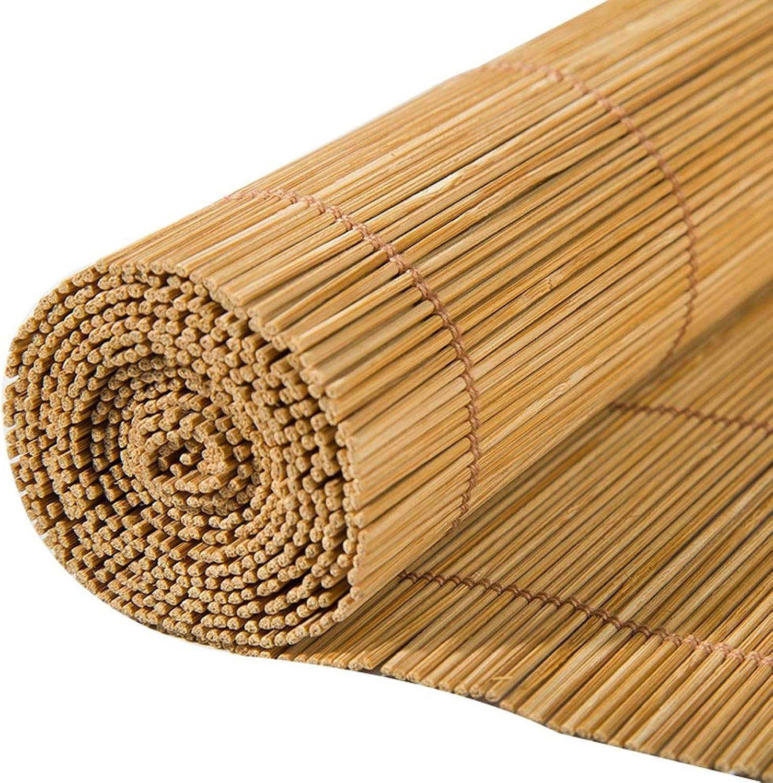 varios tamaños Estores de bambú Persianas enrollables de bambú Natural, persianas enrollables enrollables enrollables con Filtro de luz, persianas y cordón Lateral, para Ventanas Puertas (Tamao   50×120cm)  ventas en linea
