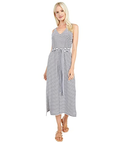 Vineyard Vines Striped V-Neck Maxi Dress Women