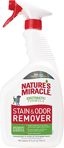 Nature's Miracle Stain And Odor Remover Unscented For Dogs, 946ml