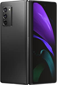 Samsung Electronics Galaxy Z Fold 2 5G | Factory Unlocked Android Cell Phone | 256GB Storage | US Version Smartphone Tablet | 2-in-1 Refined Design, Flex Mode | Mystic Black (SM-F916UZKAXAA) (Renewed)