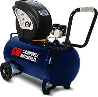 Air Compressor, Portable, 13 Gallon Tank, Horizontal Tank, Oil Free (Campbell