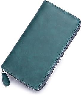 [imeetu]カードケース 長 財布 お札入れ スマフォン パスポート 72枚収納 L型 大容量 本革 スキミング防止 メンズ レディース
