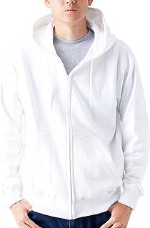 ティーシャツドットエスティー パーカー 無地 裏パイル ジップアップ 10.0oz メンズ