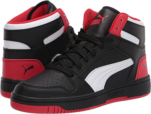 Puma Black/High Risk Red/Puma White