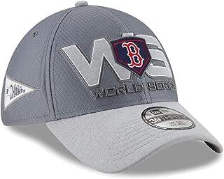 New Era Boston Red Sox 2018 American League Champions Locker Room 39Thirty Flex Hat - OSFM