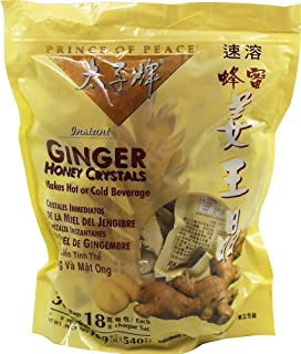 Best Ginger Tea with Honey Crystals 30 bags