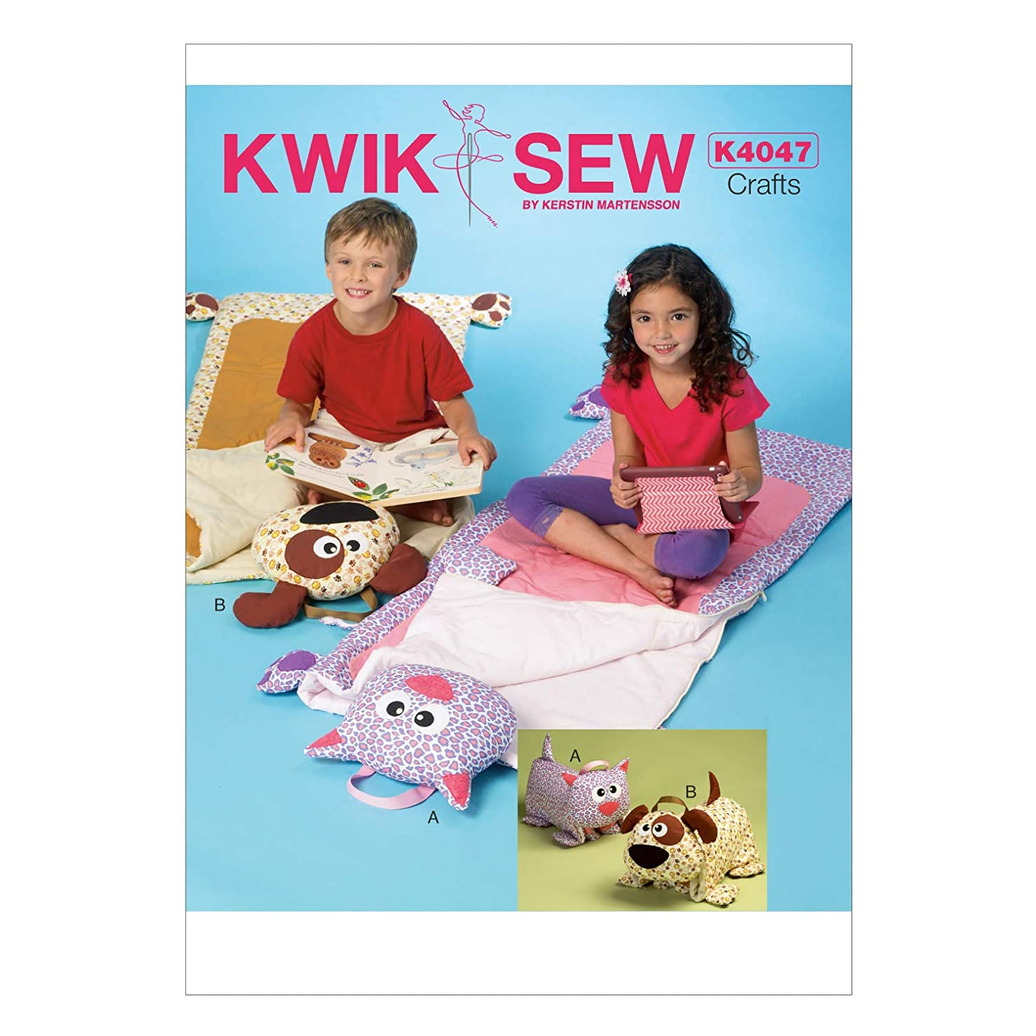 KWIK-SEW PATTERNS K4047 Sleeping Bag, One Size Only