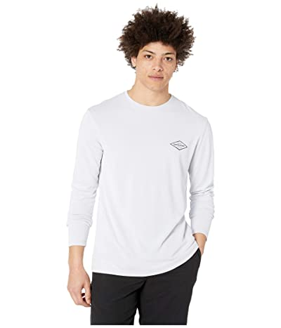 Quiksilver Waterman Gut Check Long Sleeve Rashguard (White) Men