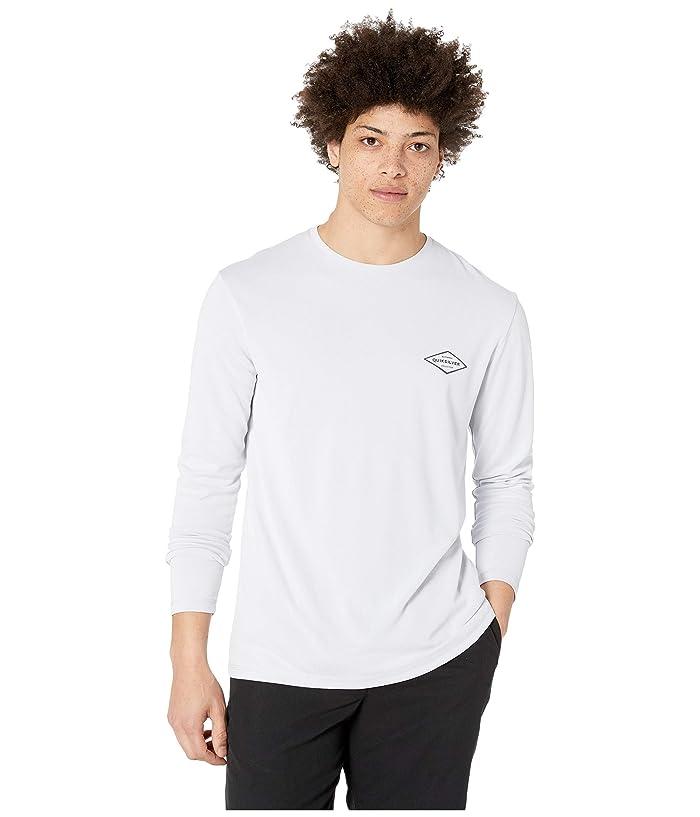 Quiksilver Waterman Gut Check Long Sleeve Rashguard (White) Men