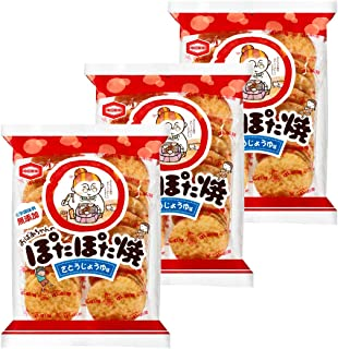 亀田製菓 ぽたぽた焼 20枚×3袋