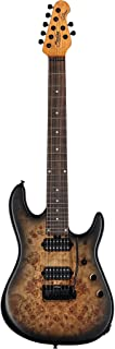 Best Sterling by Music Man 7 String Solid-Body Electric Guitar, Right, Natural Poplar Burst (RICHARDSON7-NPB) Review