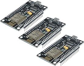 BE Equipment ESP8266 NodeMcu V3 LUA ESP-12E CP2102 Open-Source Wireless WiFi Module Development Board (Three Pack)