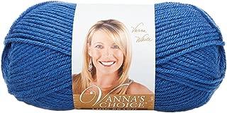 Lion Brand Yarn 860-109E Vanna's Choice Yarn, Colonial Blue (170 yd - 156 m)