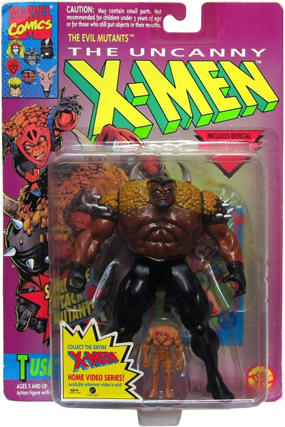 The Uncanny XMen  Tusk  Surprise Attack Mutant Action Figure