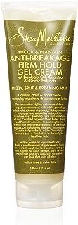 Shea Moisture Yucca and Plantain Anti-Breakage Firm Hold Gel Cream, 237 ml