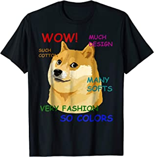 Very Fashion Doge T-Shirt Wow!
