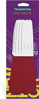 Tramontina 12 pcs Table Knives Set New Kolor