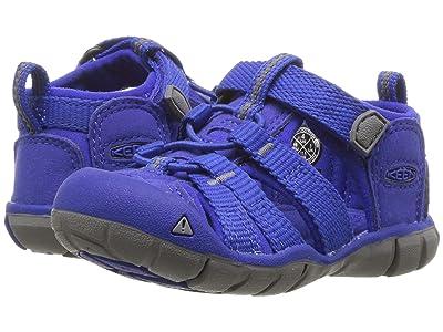 Keen Kids Seacamp II CNX (Toddler) (Bright Blue) Kids Shoes