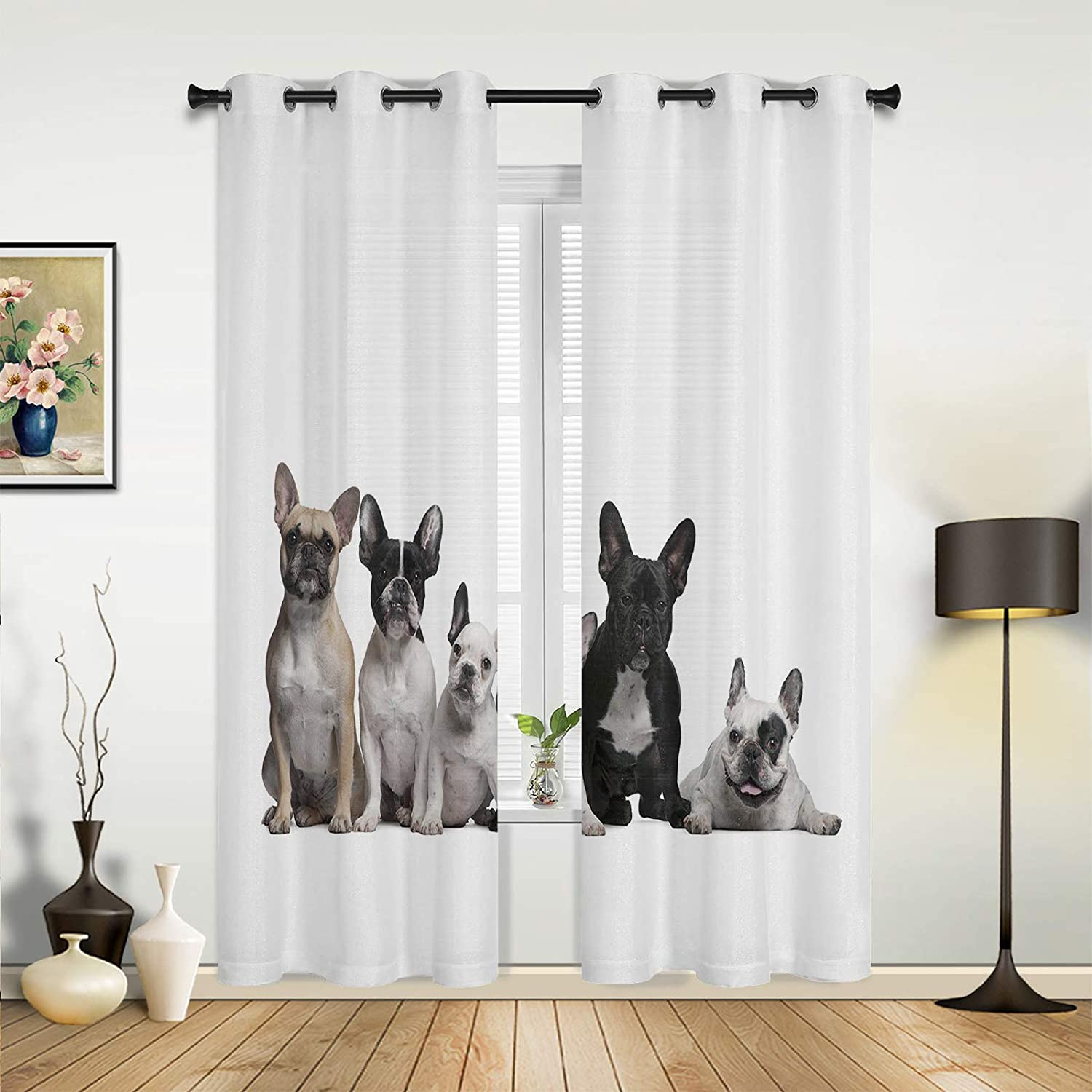 Beauty Decor Window Sheer Curtains for Frenc Living Wholesale Quality inspection Bedroom Room