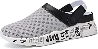 Hommes Sabots Sandale Pantoufles Plage Chaussures de Jardin D'Été