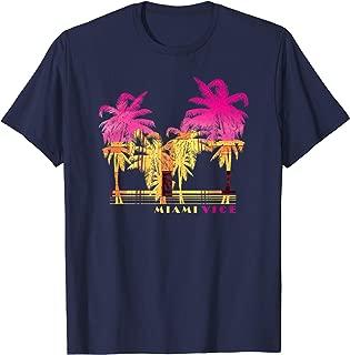Pink & Yellow Palm Tree Shadows T-Shirt