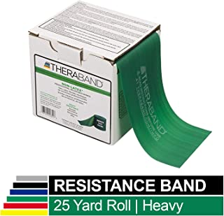 TheraBand Professional Non-Latex Resistance Bands for Upper and Lower Body Exercise Workouts
