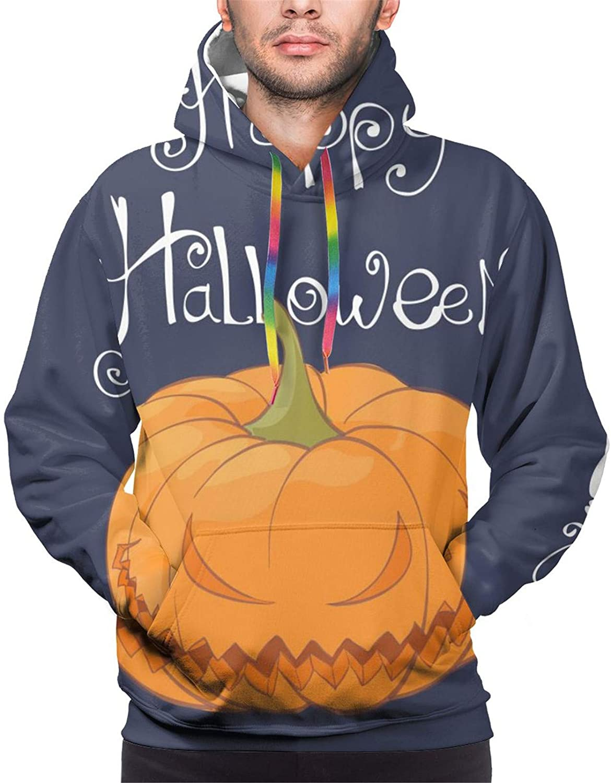 Max 84% shop OFF Men Hoodie Autumn Winter Halloween Pullov Pumpkin Streetwear